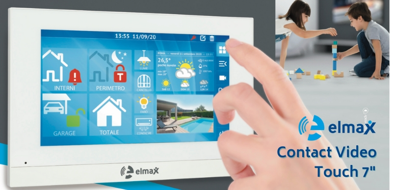 Elmax Contact Video Touch 7